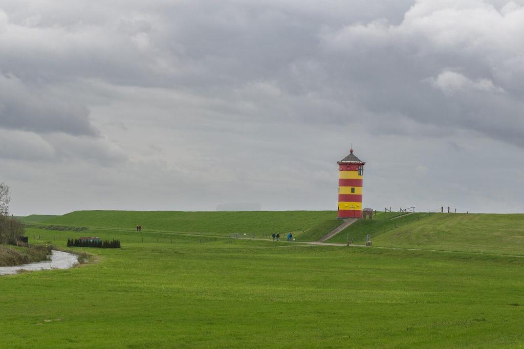 Leuchtturm in Pilsum